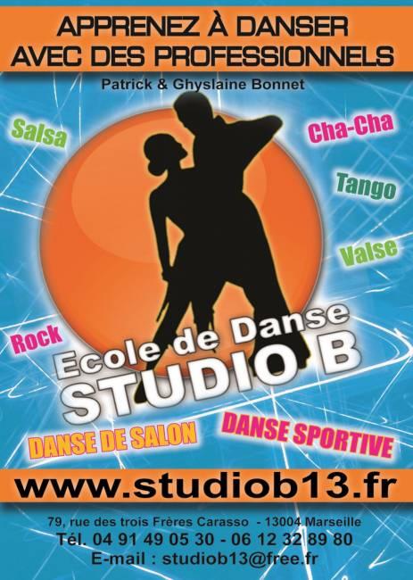 Cours de danse zumba marseille 13005 studio b for Cours de danse de salon marseille