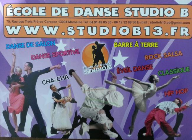 Ecole de danse de salon marseille studio b for Cours de danse de salon 92
